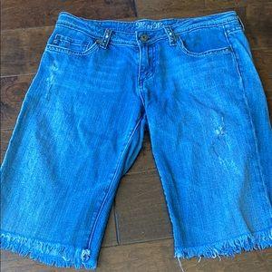Miss Me Bermuda Jean shorts